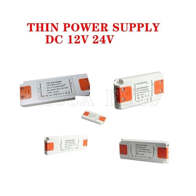 12 Volt di Alimentazione 12 V LED Driver 20W 30W 40W 50W 60W AC 110V 220V a 12 V DC Illuminazione Trasformatore Adattatore per la Striscia del LED CCTV