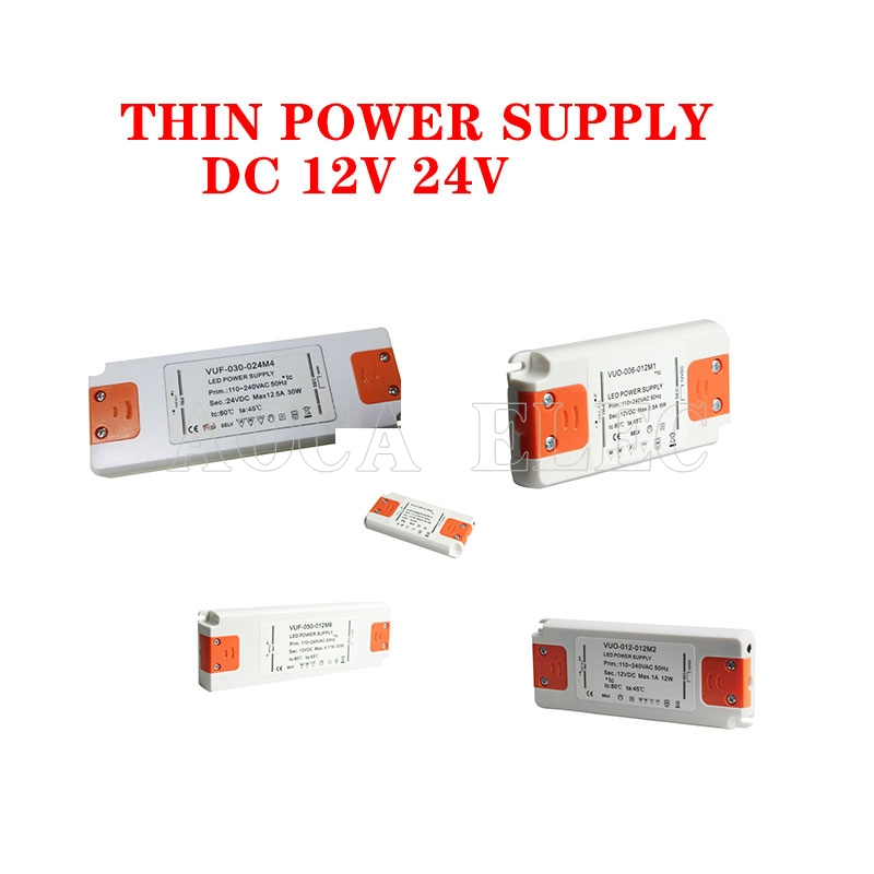 12 volts alimentation 12 V LED pilote 20W 30W 40W 50W 60W AC 110V 220V à 12 V DC transformateur d'éclairage adaptateur pour LED bande CCTV