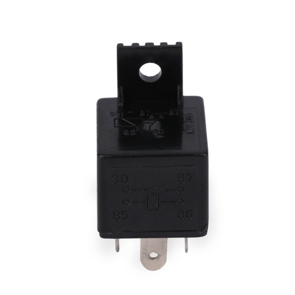 Auto Relay Universal 4 Pin Dc 12v 30a Build In Fuse Socket Car Renault Megane Box Cigarette Lighter For Electric Fuel Pumps Water Headlight Etc Switches Relays
