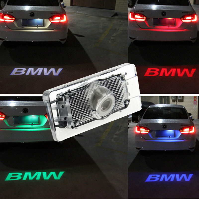 1pcs CANBUS Car LED Number License Plate font b Light b font 12V LED Logo projection