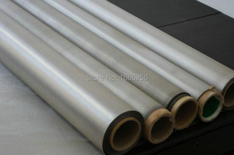 RFID shielding Nickel copper conductive fabric in stock for EMF blocking on sale