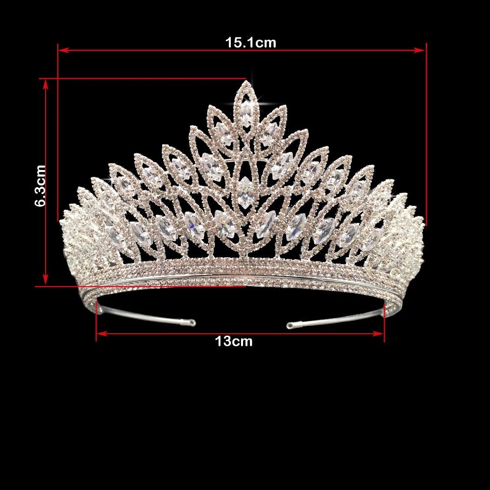 Image 3 - Crown Headband Classic Luxury Geometric Design Wedding Hair  Accessories Elegant For Women High Quality BC3103 Corona Princesabridal  tiara crowntiara crownfashion crown