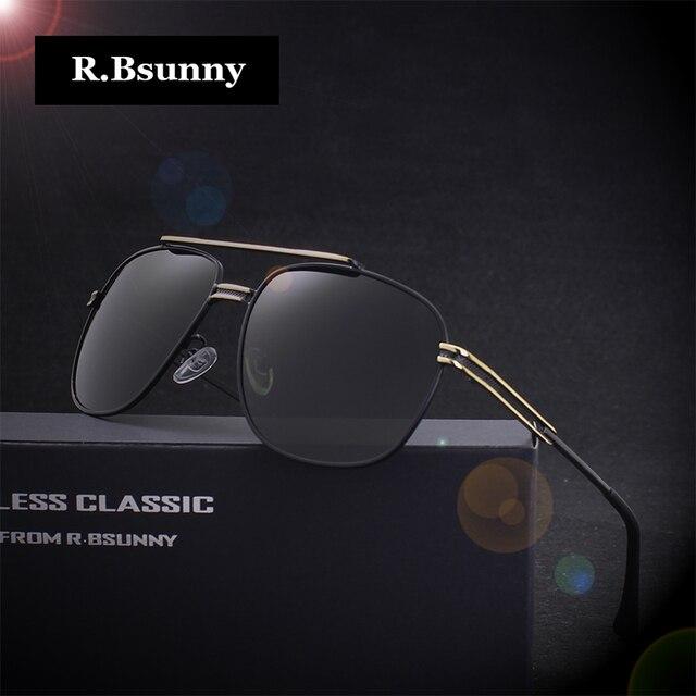 R. bsunny marque polarisées lunettes de soleil hommes d origine hd polaroid  lentille réfléchissant 9a284b2960cf