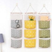 3 кармана настенный дверной шкаф подвесная сумка-Органайзер для кухни ванной сумка для хранения мелочей шкаф-органайзер игрушка