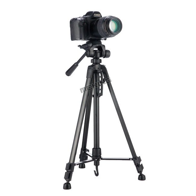 Meking New 140cm 55inch Professional Tripod stand for Camera Camcorder WF-3520 Black tripod tripe extensor para foto