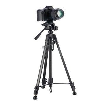 Meking Yeni 140 cm 55 inç Profesyonel tripod standı Kamera Kamera için WF-3520 Siyah tripod işkembe extensor para fotoğraf