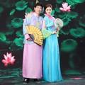 Китайские любители костюм платье национальная одежда Традиционный Драматургического Костюм