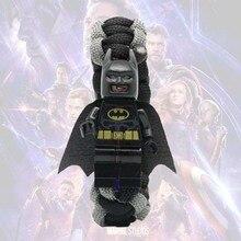 все цены на Marvel Avengers 4 Iron Man Bat Capation America Building Blocks Toys Action Figures Children Gift онлайн
