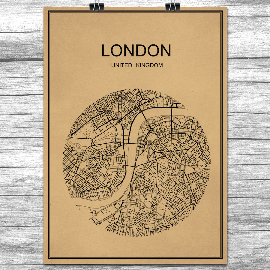 England Map Poster PromotionShop for Promotional England Map