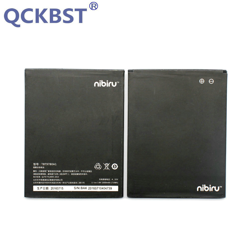 QCKBST 2000mAh TBT9780A1 Battery for Highscreen Thor K-Touch Mars Nibiru H1 H1C Phone In stock Tracking code