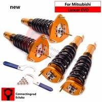 Coilover Suspension Kit for Mitsubishi Lancer Evolution 8 EVO 7-9 CT9A 01-08 Adjustable Height Shock Struts Spring
