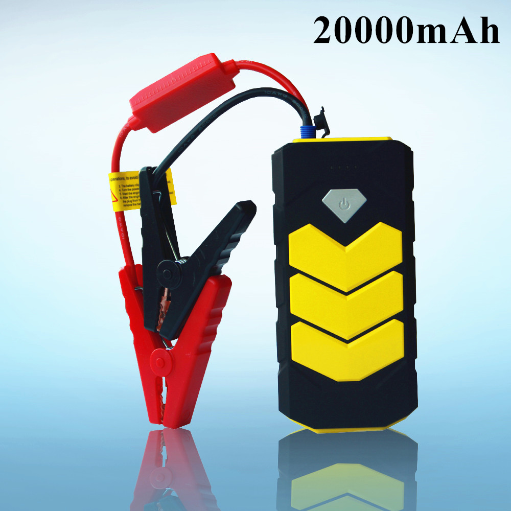 A+ Emergency 20000mAh Car Jump Starter 12V 400A Pack Portable Starter Power Bank Charger for Car Battery Booster Starting Device