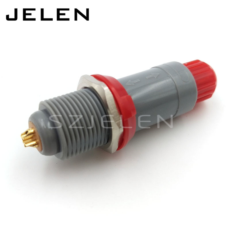 LEMO connector 3 pin,  PAG/PLG, Medical connector 4-pin plug socket, Single positioning pin, color optional, panel mounting ultrathin led flood light 10w 20w 30w 50w ac85 265v waterproof ip66 floodlight spotlight outdoor lighting free shipping