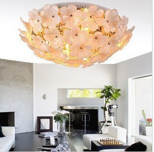 Modern Brief Gl Petals Ceiling Light Lighting Rustic Beautiful In Lights From On Aliexpress Alibaba Group