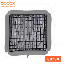 "Godox ตารางแบบพกพา 80x80 ซม. 32 ""x 32"" Softbox Honeycomb Grid สำหรับสตูดิโอ Srobe แฟลช (ตาราง)"