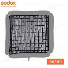 """Godox siatka przenośny 80x80 cm 32 """"x 32"""" Photo Softbox siatka o strukturze plastra miodu dla Studio Srobe Flash światło (tylko siatka)"""