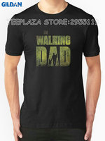 Gildan Teeplaza Print Tee Clothing The Walking Dad Men S Casual Short O Neck Tee Shirts