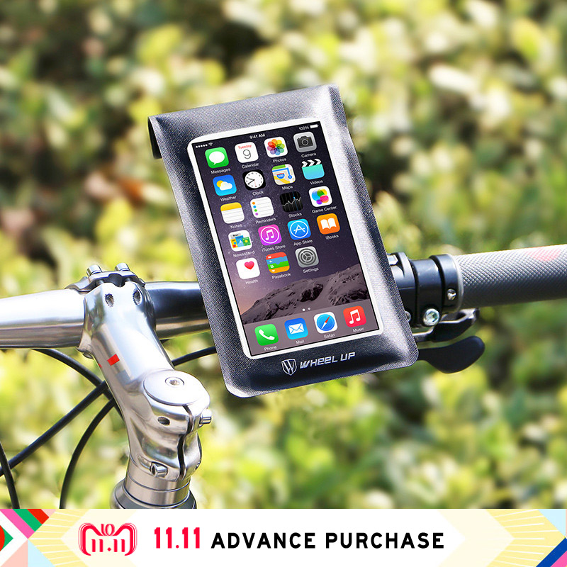 waterproof bumper bicycle bike bracket convenient stand and control mount phone holder support stable for iphone x 8 samsung S9