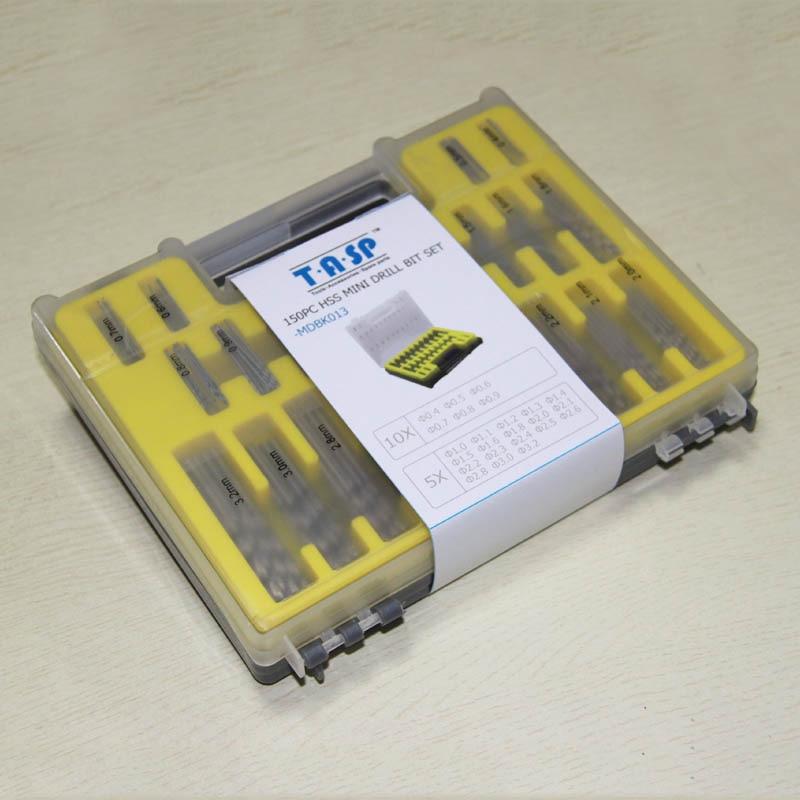 150 st HSS Micro PCB Drill Bit Set 0.4-3.2mm för Dremel Mini - Borr - Foto 6