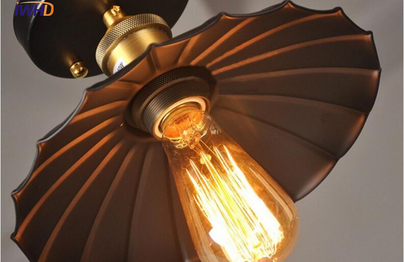 IWHD Edison Loft Industrial CONDUZIU a Lâmpada