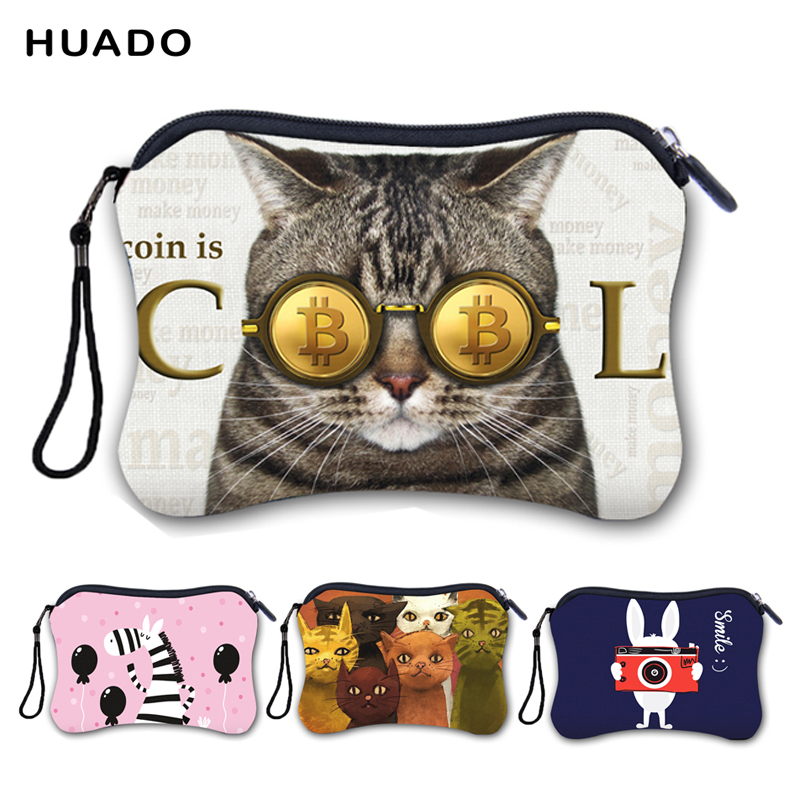 Cute Cartoon Women Purse Mini Bag Clutch Coin Purse Pocket Small Money Storage Bags Coin Wallet Female Zipper Pouch
