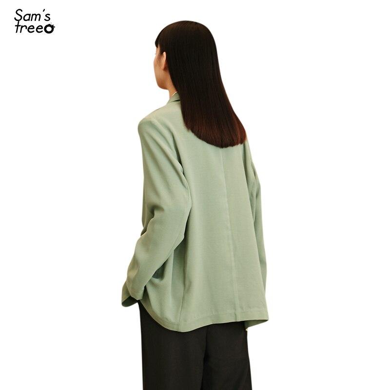 New Fashion Samstree Sweet O-neck Lantern Long-sleeved Thin Blouse Summer Women Tops Ruffles Hem Loose Lace Shirt A Great Variety Of Models Women's Clothing
