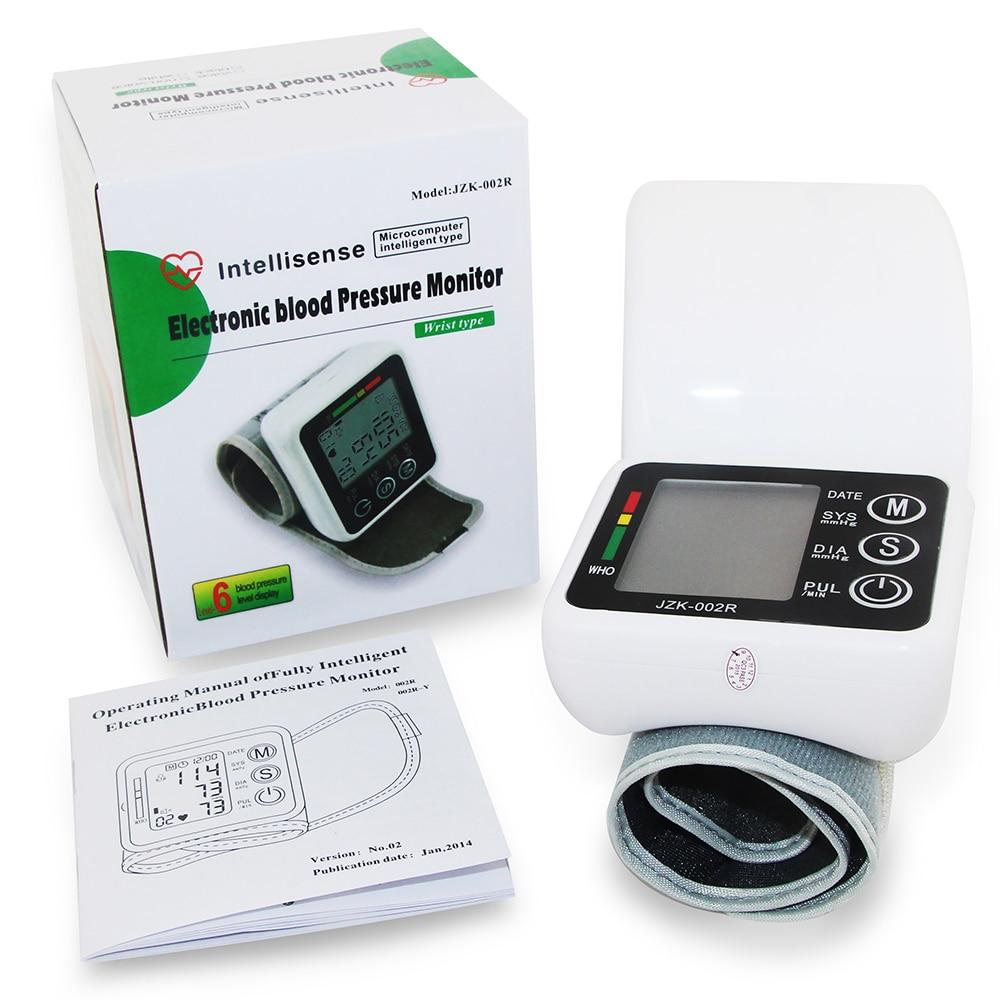Wrist Blood Pressure Monitor Automatic Digital Meter Cuff ...