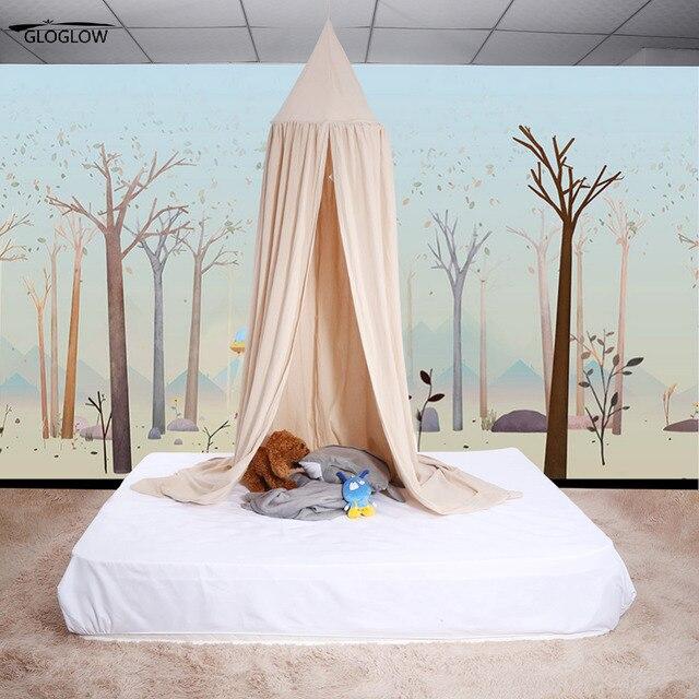 Moskitonetz Zelt Vorhange Baldachin Bett Volant Viele Farben Kinder