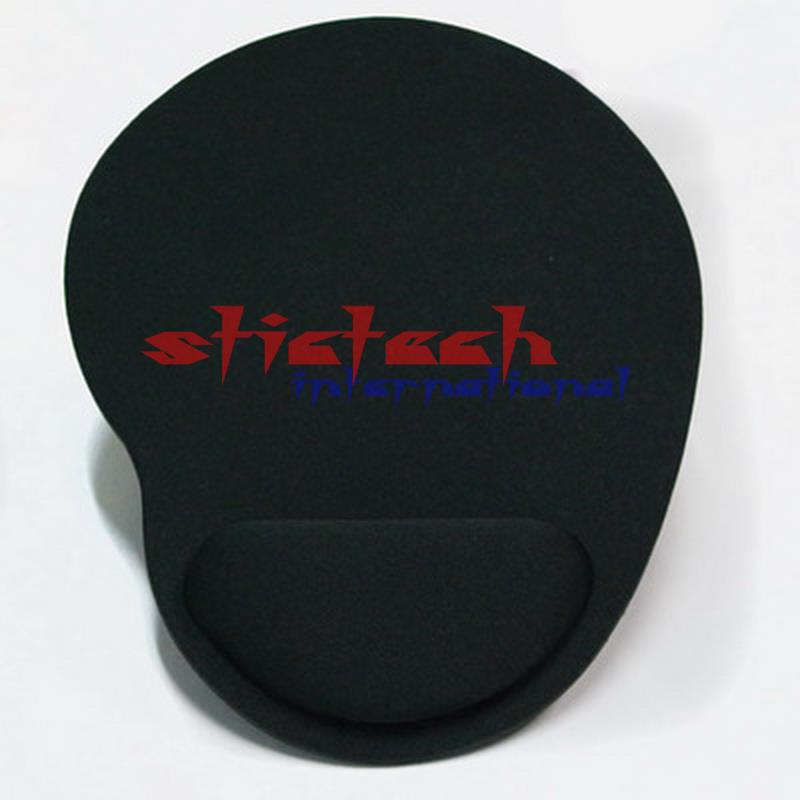 by dhl or ems 500pcs Optical Trackball PC Thicken Mouse Pad Support Wrist Comfort Mouse Pad