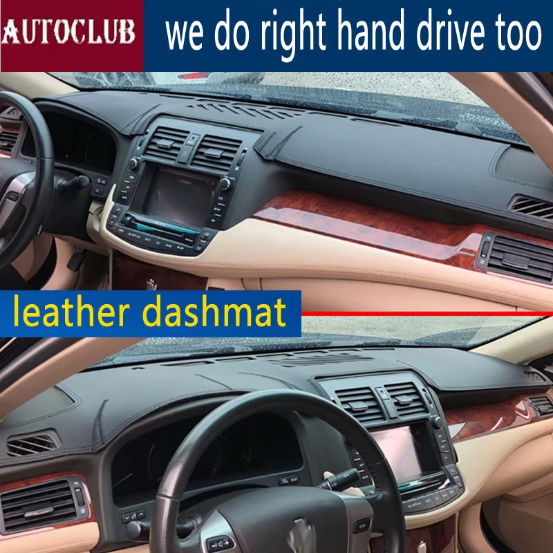 For Toyota crown s200 2009 2013 Leather Dashmat Dashboard Cover Pad Dash Mat SunShade Carpet Cover 2010 2011 2012