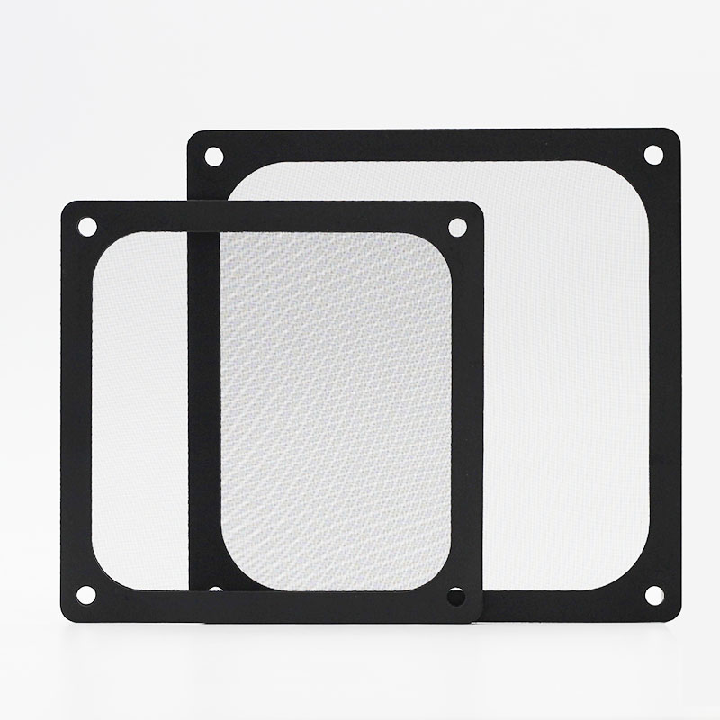Image 4 - En Labs 12CM Magnetic Frame Black Mesh Dust Filter PC Cooler Fan Filter with Magnet , 120x120mm Dustproof Computer Case Cover-in Fans & Cooling from Computer & Office