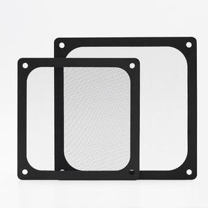 Image 4 - En Labs 12CM Magnetic Frame Black Mesh Dust Filter PC Cooler Fan Filter with Magnet , 120x120mm Dustproof Computer Case Cover
