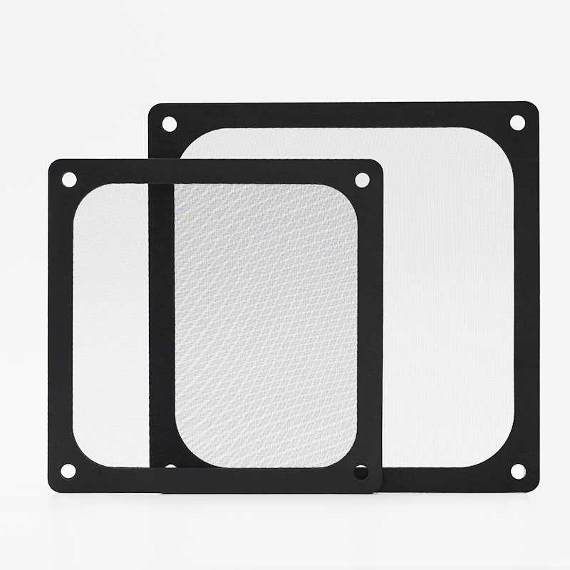 Home Computer Chassis Fan Dust Guard for Home Chassis PC Computer Case Cooling Fan Accessories ER-NMBGH 120MM//140MM Magnetic Frame Dust Filter Dustproof PVC Mesh Net Cover