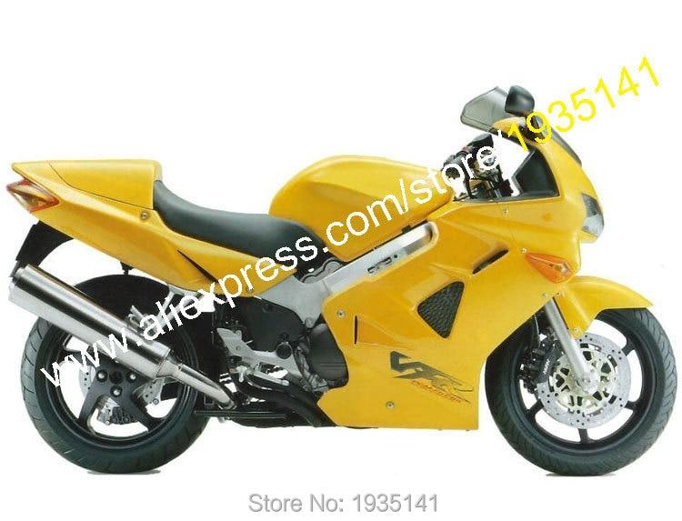 Hot Sales For Honda Vfr800 98 99 00 01 Parts Vfr 800 Rr Vfr800rr 1998 1999 2000 2001 All Yellow