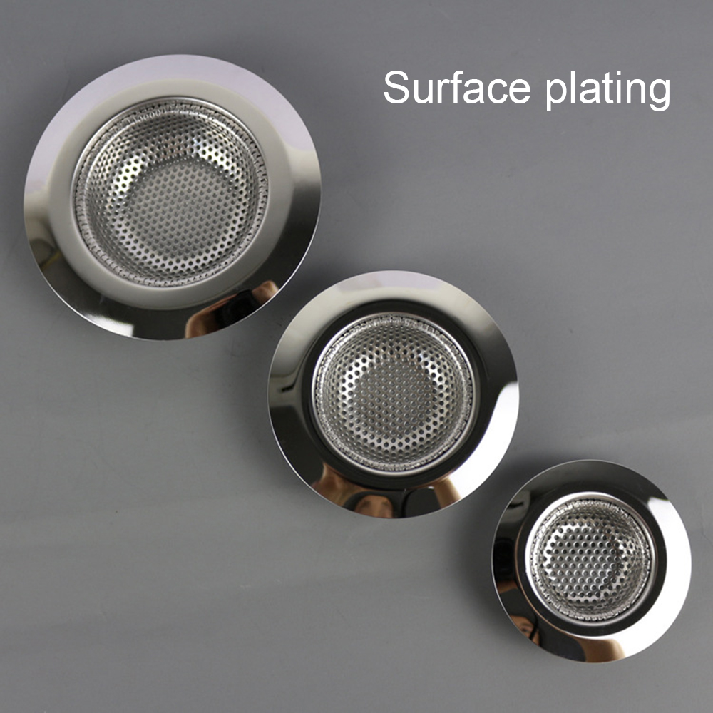 7cm/9cm/11cm Laundry Bathtub Shower Outfall Drain Hole Filter Trap Cocina Sink Strainer Bathroom Kitchen Accessories