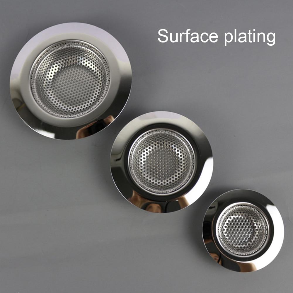 7cm/9cm/11cm Laundry Bathtub Shower Outfall Drain Hole Filter Trap Cocina Sink Strainer Bathroom Kitchen Accessories