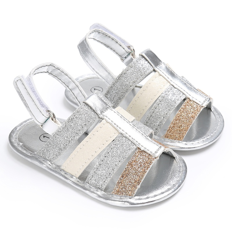 2017 New Arrival Hot Casual Stitching Boys Girls Sandals, Comfortable High Quality Outdoor Baby Shoes Anti-slip hook and l