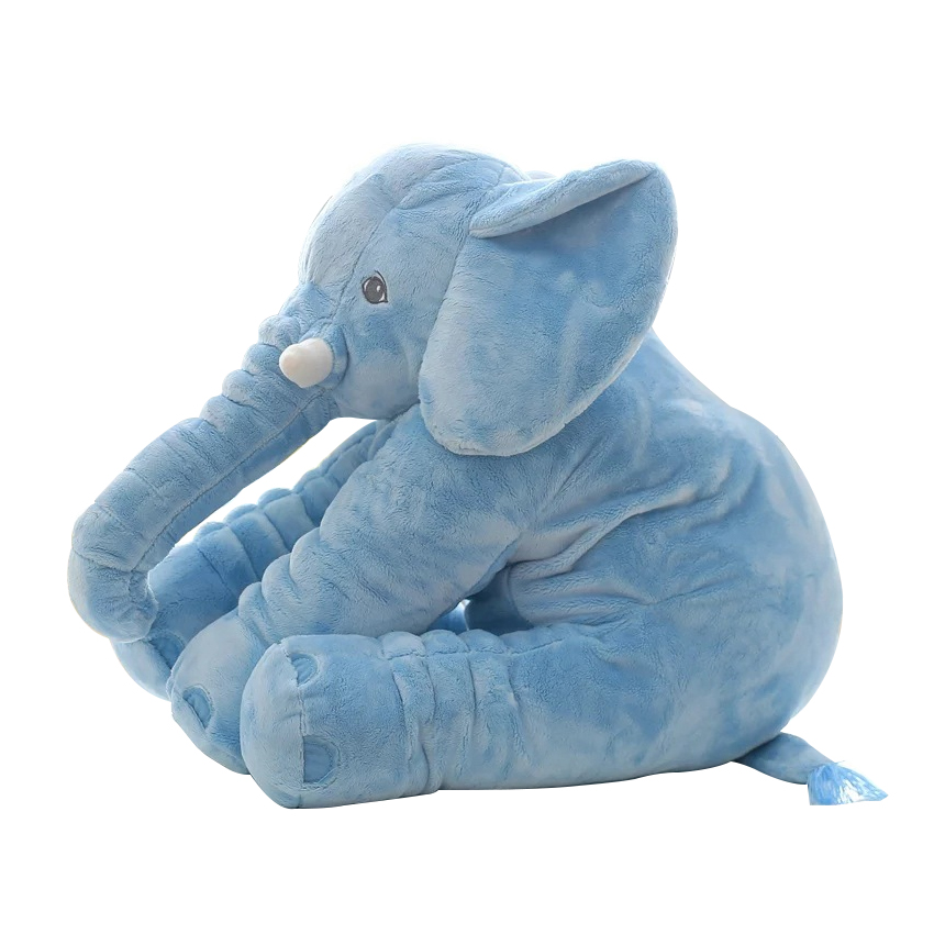 Toys & Hobbies ... Stuffed Animals & Plush ... 32724051340 ... 4 ... 40/60cm Fashion Baby Animal Plush Elephant Doll Stuffed Elephant Plush Soft Pillow Kid Toy Children Room Bed Decoration Toy Gift ...