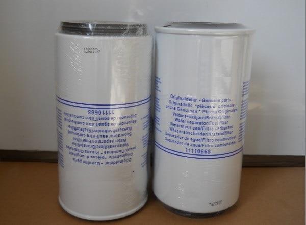 Free Shipping 11110668 Fuel-water separator Fuel water filter Diesel generator free shipping 3825133 6 fuel filter diesel generator