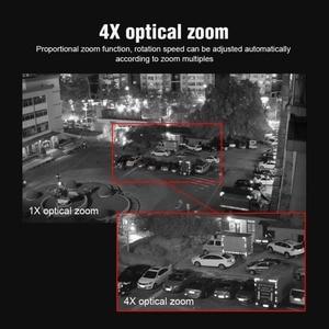 Image 5 - 4X Zoom 5MP PTZ IP Camera Outdoor 2592*1944 48V POE PTZ Bullet Camera Waterproof IP66 IR 50M CCTV Security Camera IOS Android