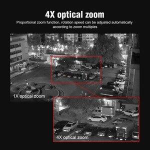 Image 5 - 4X Zoom 5MP PTZ IP kamera açık 2592*1944 48V POE PTZ Bullet kamera su geçirmez IP66 IR 50M CCTV güvenlik kamera IOS Android
