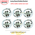 Litewinsune FREESHIP 6PCS/LOT Lamp Base GY9.5 Lamp Holder Single Ended Base Lamp Socket GX9.5 G15 G22 GX16