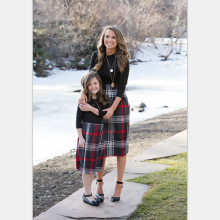 Mother & Daughter Dresses Autumn