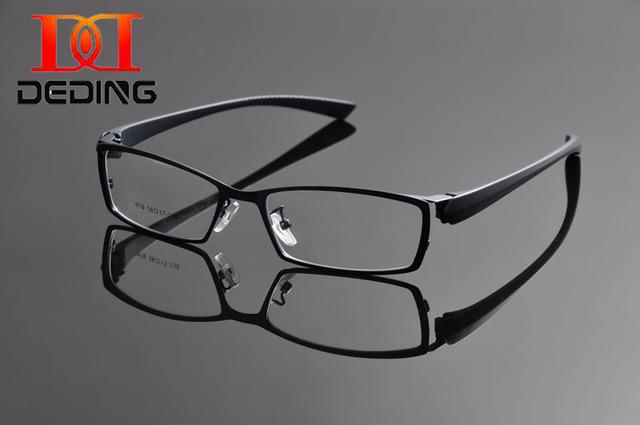 Deding мужчин женщины дизайнер ULTEM очки кадр квадратные очки ретро оптический компьютер очки кадр óculos де грау DD1053