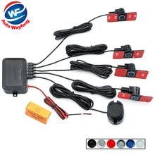 16 ミリメートルフラットセンサー駐車場センサー支援オートリバースバ警報システム + サウンド警告インジケータ 6 色