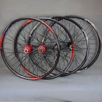 27.5 29 26inch bicycle wheel MTB Mountain Bike Wheel 120 Ring Bicycle Wheelset 32 Holes Bearing Hub 26inch Wheelset