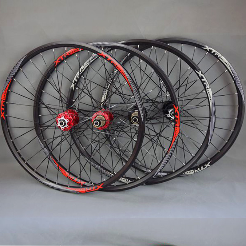 27.5 29 26inch bicycle wheel MTB Mountain Bike Wheel 120 Ring Bicycle Wheelset 32 Holes Bearing Hub 26inch Wheelset все цены