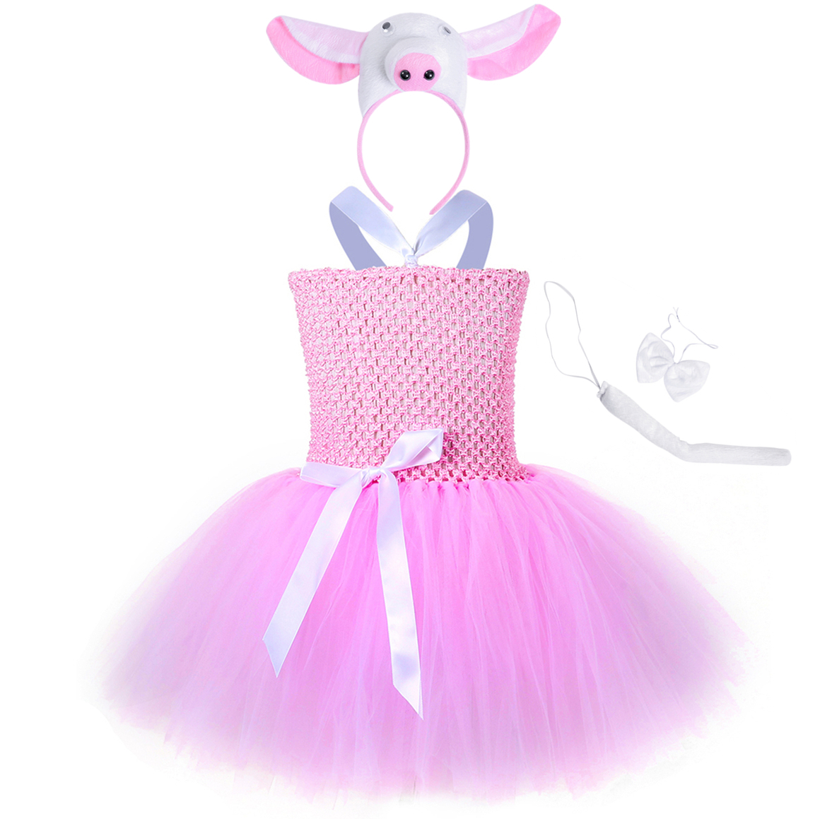 Baby Toddler Girl Princess Costume Set Party Outfit Kids Ballet Fancy Tutu Dress