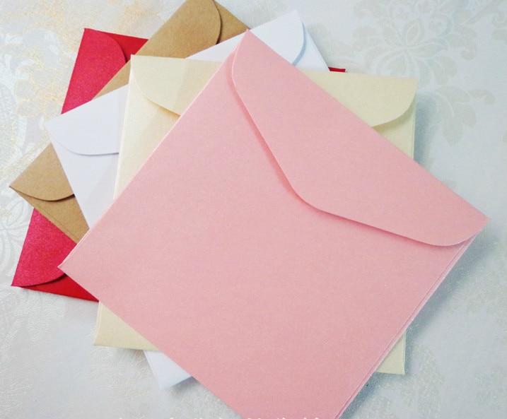 Kleine Karte Umschlag Platz Kraft Umschlag Perlglanz Papier Blank Hochwertigen Geburtstagsgeschenk Umschlag Aromatischer Geschmack Office & School Supplies