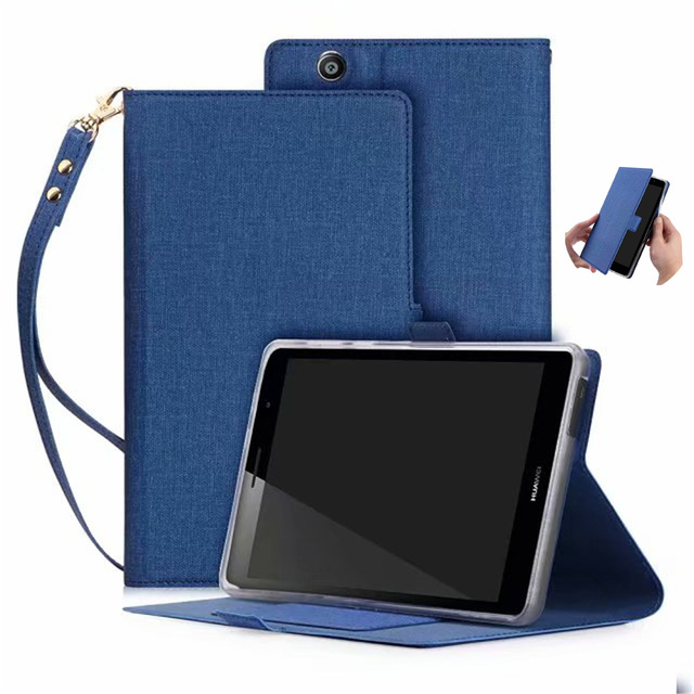 promo code d7add acefe US $12.6 10% OFF|Ultra Slim Case For Huawei Mediapad T3 7 3G BG2 U01 Tablet  Stand Cover For Huawei Mediapad T3 7 Case 3G Version With Hand Strap-in ...